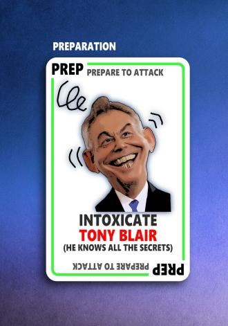 Front Tony Blair